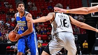 James Michael McAdoo Leads the Warriors to Win