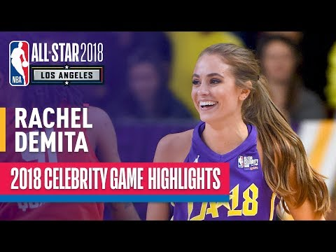 Rachel DeMita With An NBA2k Worthy Performance In The 2018 Celebrity All-Star Game
