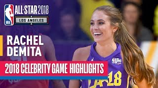 Rachel DeMita With NBA2K Worthy Performance In 2018 Celebrity All-Star Game | Presented by Ruffles