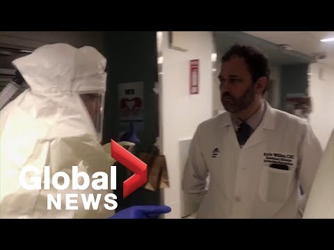 Coronavirus outbreak: New York doctor shows day in life at hospital during COVID-19 crisis
