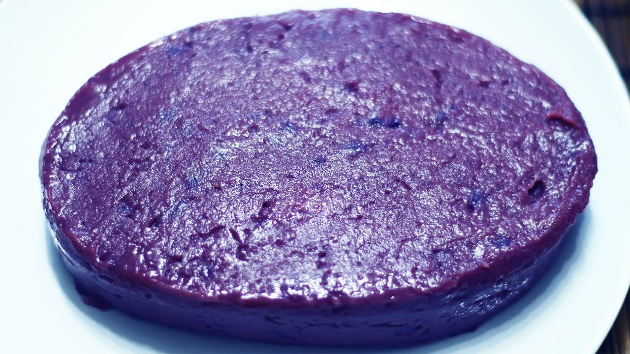 Best Recipe For Ube Cake