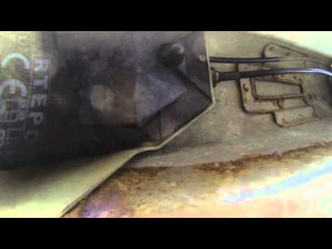 Fiat Punto 1.2 active gearbox linkage cable 55194774 how to replace Faulty gear change due to cables