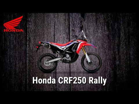 Tampilan Honda CRF Rally