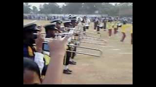 SSC Western Music Band Playing Chanchala Hagumaka (By Sanka Dineth) 2012