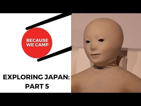 Exploring Japan Part 5: Hiroshima | Tokyo | Anime Convention | Cosplay | Asimo | Miraikan