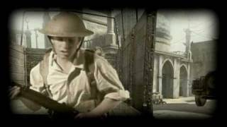Call of Duty ww2 action movie including real human acting