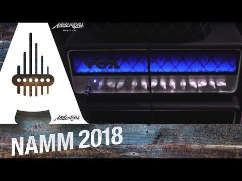 Vox News - Nutube Amps - NAMM 2018