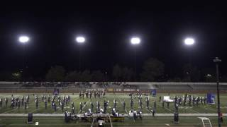 2016 nov 5th independence wba band competition lhs marching band colorguard