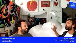 Designers for Lunch | Isola Open Studios Edition w/ Stefano Rossetti