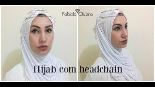 Baixar Tutorial hijab/lenço/ véu islâmico e head chain/ testeira por Fabiola Oliveira