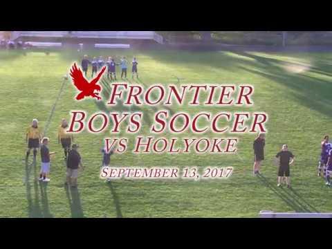 Frontier Regional School Boys Soccer VS Holyoke