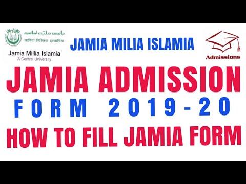 Jamia School Admission Form 2019 - 20  Jamia Nusery Admission  Jamia Class  1 Nursery Form   JMICOE