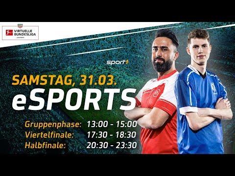 LIVE 🔴 | FIFA 18 Viertelfinale | TAG Heuer Virtuelle Bundesliga | SPORT1