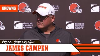 James Campen on O-Line Has Improving Week to Week | Cleveland Browns