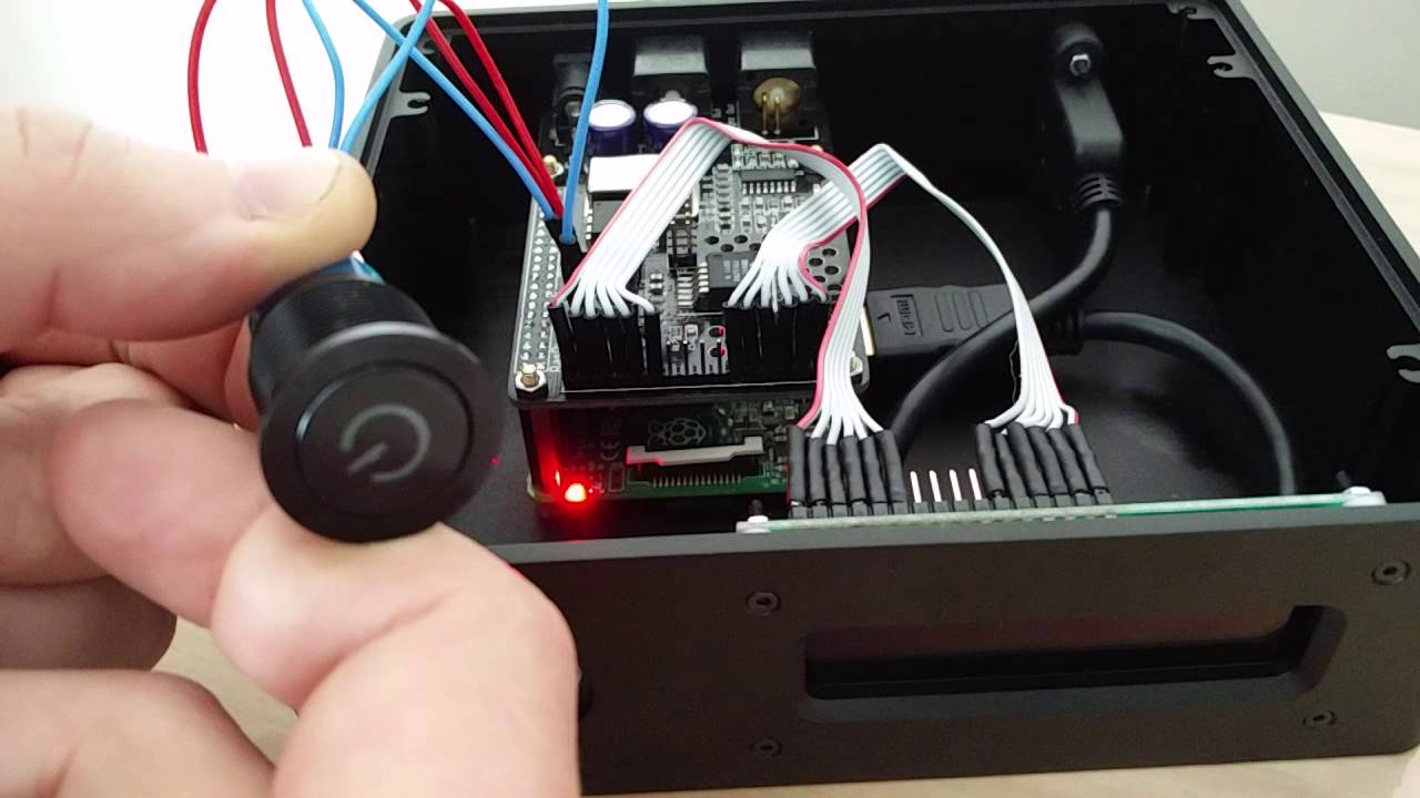 Audiophonics RaspDAC power button issue