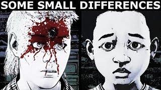 Marlon & AJ - Intro Cutscene Difference Check - The Walking Dead Final Season 4 Episode 2