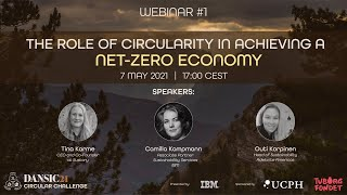 DANSIC21 Webinar #1: The Role of Circularity in Achieving a Net-Zero Economy
