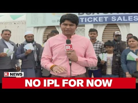 Republic TV Reports From Ekana Stadium After BCCI Suspends IPL 2020 Till April 15