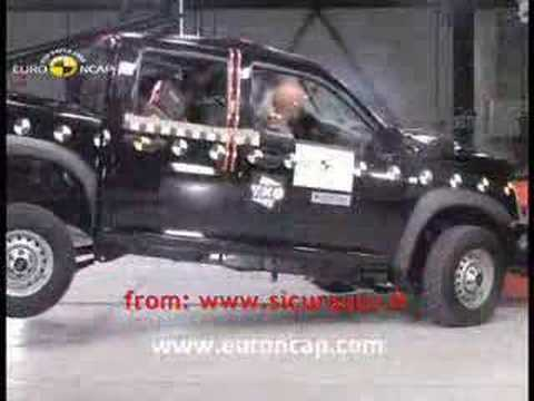 crash test 2008 isuzu i series d max rodeo euroncap youtube. Black Bedroom Furniture Sets. Home Design Ideas