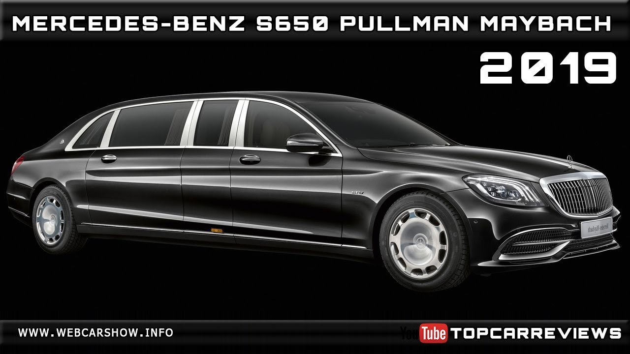 2019 Mercedes Benz S650 Pullman Maybach Review Rendered Price Specs