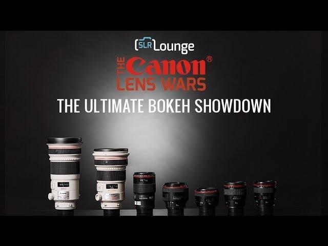 The Canon Lens Wars Ultimate Bokeh Showdown!