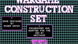 Wargame Construction Set 3 gameplay (PC Game, 1986)