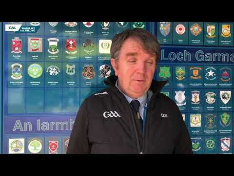 GAA National Match Officials Manager, Donal Smyth, talks to GAA.ie.
