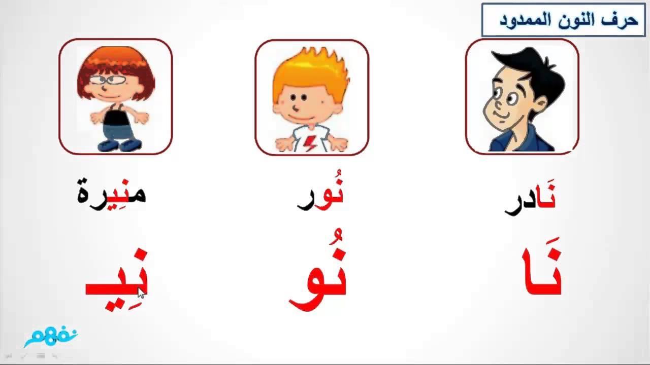 حرف النون الصف الأول الابتدائي اللغة العربية موقع نفهم موقع نفهم Youtube Math Activities Preschool Preschool Activities Math Activities