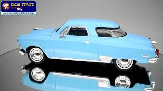 Johnny Lightning  Studebaker Commander 1951 - Azure - HD