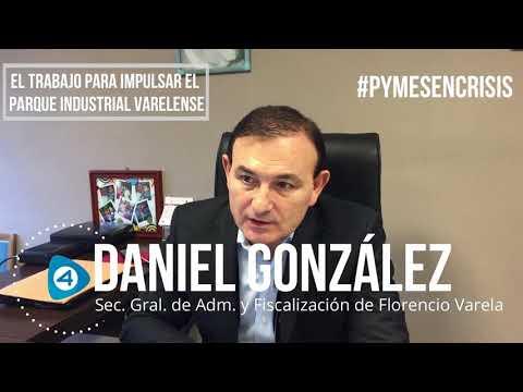 Economía y Pymes en crisis: entrevista al contador Daniel González del Municipio de Florencio Varela