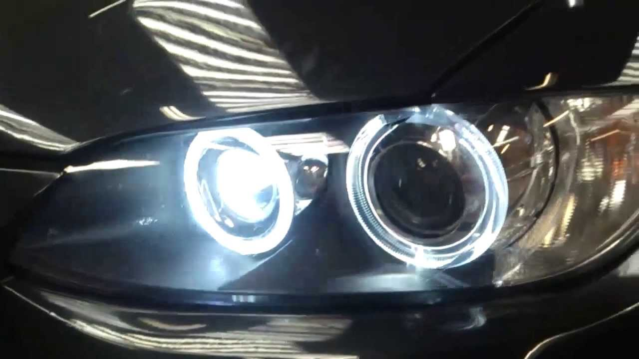 80w cree led bmw e92 angel eye bulbs