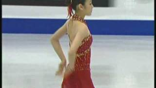 Yu-Na Kim 2008 GPF Free Skating + interview (CBC)