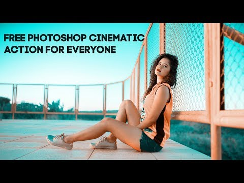 Free Photoshop Cinematic Actions For You | Photoshop Tutorial thumbnail