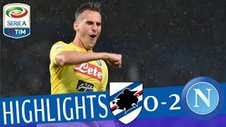 Sampdoria - Napoli 0-2 - Highlights - Giornata 37 - Serie A TIM 2017/18