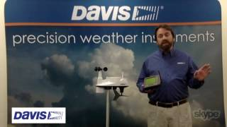 Davis WeatherLink Overview with Weather Nation