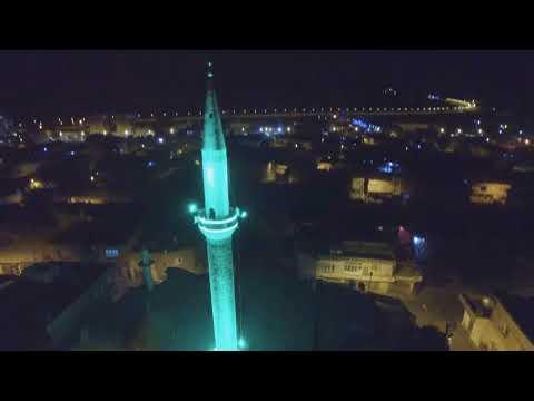 Gercüş Cami Minareleri ışıklandırma