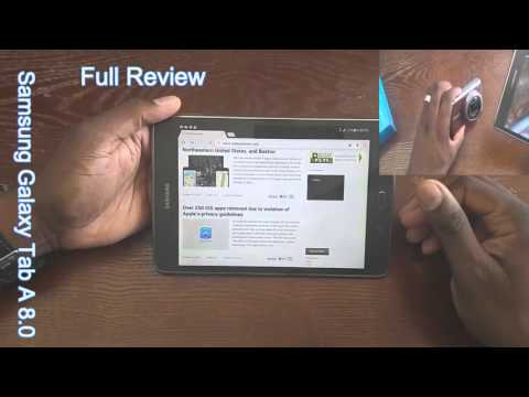 T-Mobile Samsung Galaxy Tab A 8.0 LTE Full review