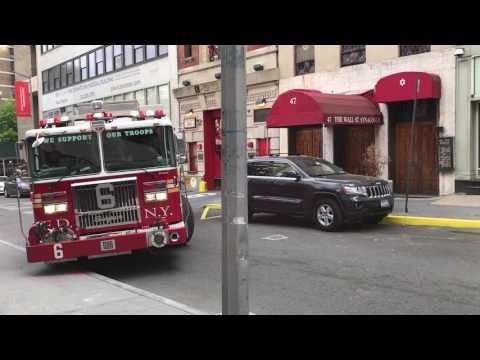 Fdny Squad 18 Amp A Fdny Rescue Medics Haz Tac Ambulance