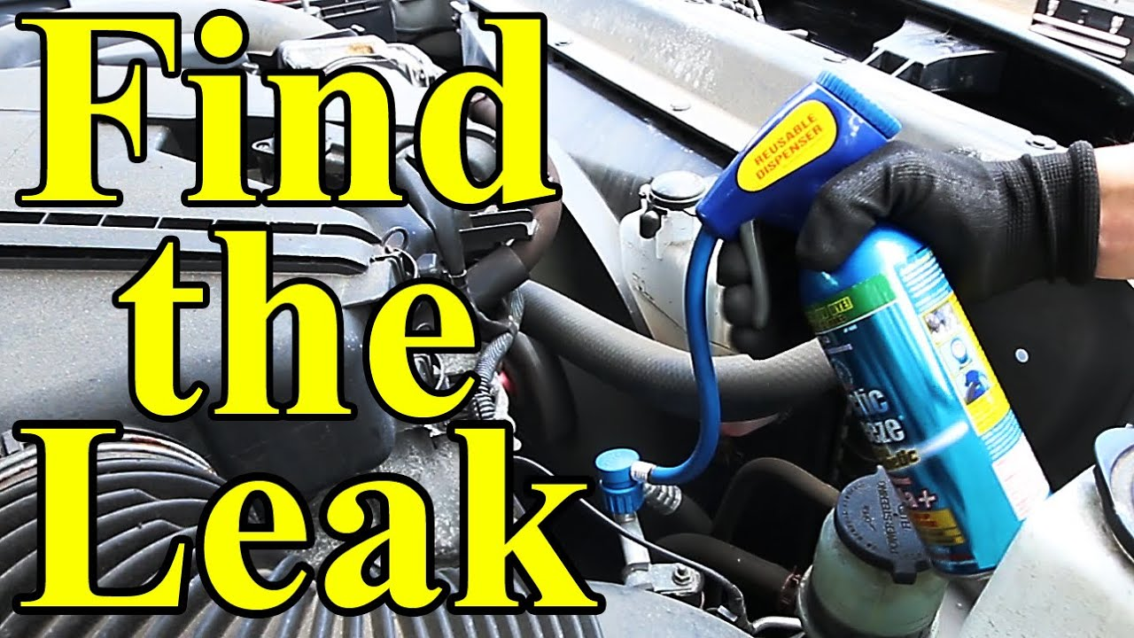 How to Find AC Leaks in Your Car (UV Dye)