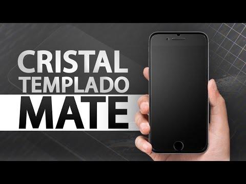 5a2dd467f73 Experiencia con cristal templado mate en iPhone 7 Plus - YouTube