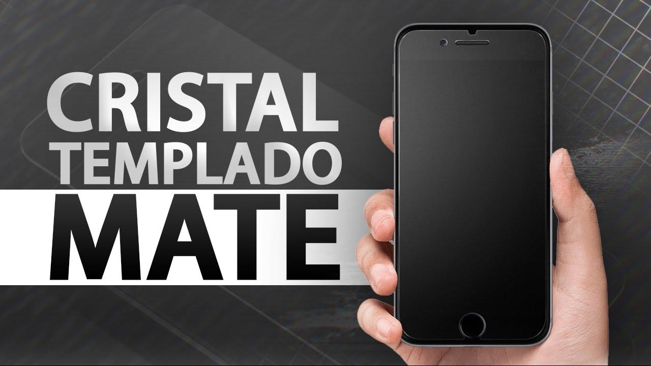 e9e2667ab9b Experiencia con cristal templado mate en iPhone 7 Plus - YouTube