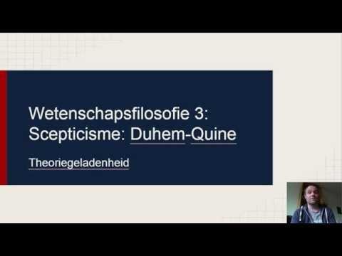 duhem quine and the duhem quine thesis Full-text paper (pdf): the duhem-quine thesis and the dark matter problem.