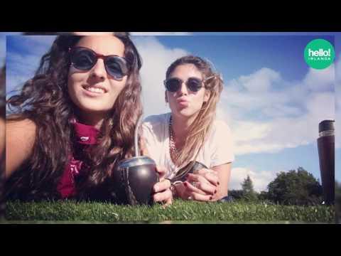 Mariangel y Fiorella de Uruguay
