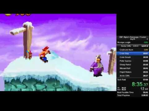 Crash Bandicoot: Fusion (Purple) Any% 51:59 [Old PB]