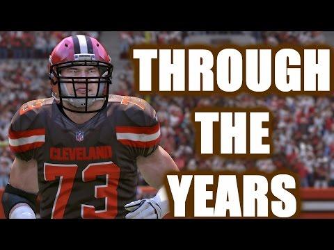 Joe Thomas Through The Years - NCAA Football 05 - Madden 17