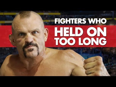 Top 10 Fighters Who Held On Too Long