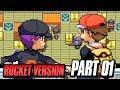 Pokemon Team Rocket Edition Rom Hack! (Pokemon GBA Fire Red Rom Hack) Part 1 w/ FeintAttacks