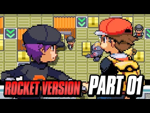 Playing As Team Rocket In Pokemon (Pokemon GBA Fire Red Rom Hack) Part 1 w/ FeintAttacks