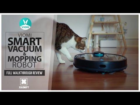 Viomi vacuum robot and floor mop V2 - Full review [Xiaomify]