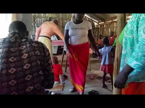 Travel to Mozambique - church songs (Vilanculos)